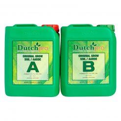 Dutch Pro Soil Grow A+B 5 Litre