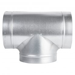 Metal T Piece Ducting Connector
