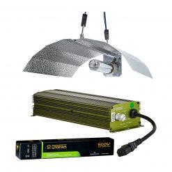 Omega 600W Grow Light Kit Digital Dimmable