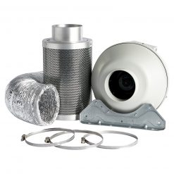 Rhino Hobby Carbon Filter Kit With Systemair RVK Fan
