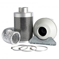 Rhino Pro Carbon Filter Kit With Systemair RVK Fan