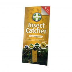 Guard N Aid Sticky Fly Trap Paper Insect Catcher Yellow 5 Pack