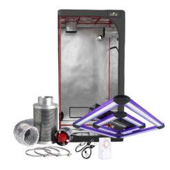 Lumatek Attis 200w LED Grow Light Tent Kit