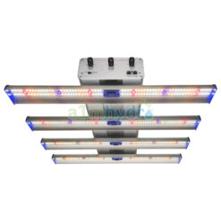 Adjust-a-wing 250w LED Grow Light Hellion 4 Bar Front
