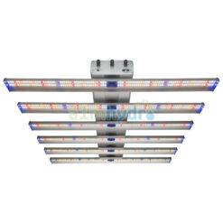 Adjust-a-wing 510w LED Grow Light Hellion 6 Bar Front